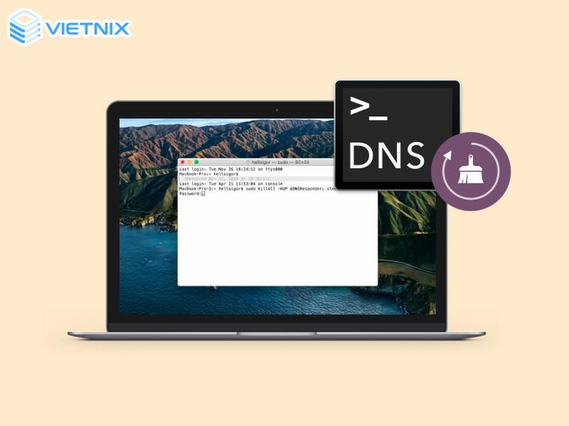 MacOS DNS Flush