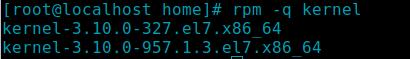 kiểm tra kernel  sau khi xóa