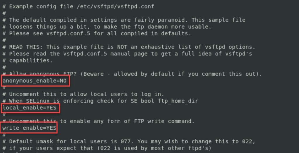Cấu hình FTP trên CentOS 7 bằng VSFTPD