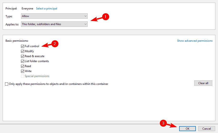 loi-access-is-denied-win-10