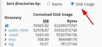 lựa chọn dung lượng hosting nhỏ