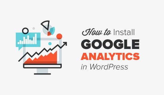 thêm Google Analytics vào WordPress