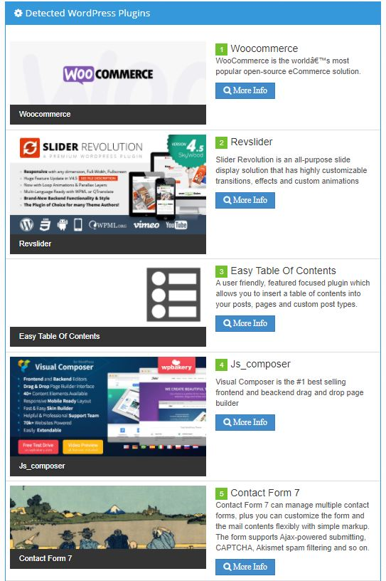 Tìm được plugin website wordpress
