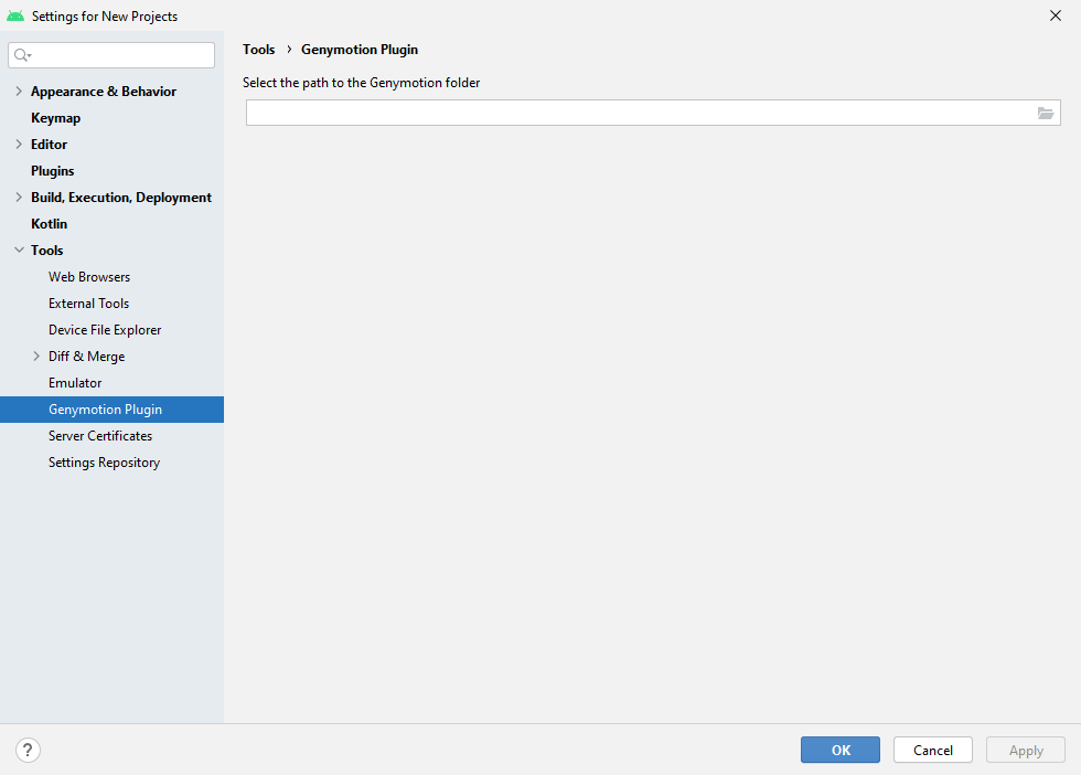 Cài đặt Genomytion cho Android Studio 3