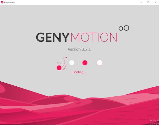 Khởi chạy máy ảo Genymotion
