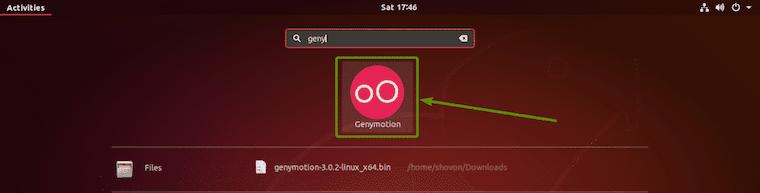 Truy cập Genymotion trên Ubuntu