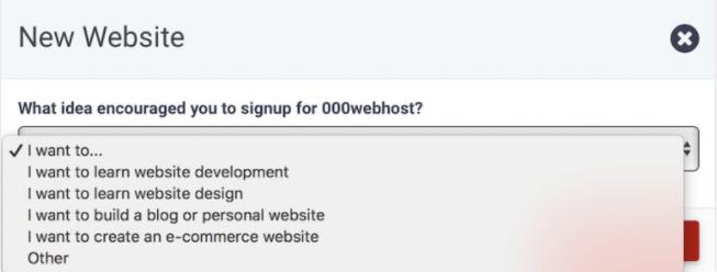 đăng ký 000webhost