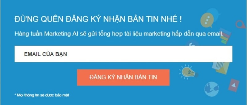 Email bản tin (Email Newsletters)
