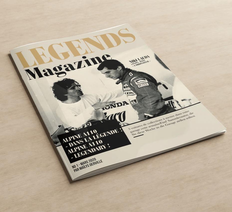 Một thiết kế bìa tạp chí cổ điển của FuturisticBug