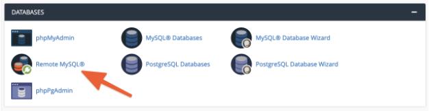Hướng dẫn cách sử dụng remote database với cPanel