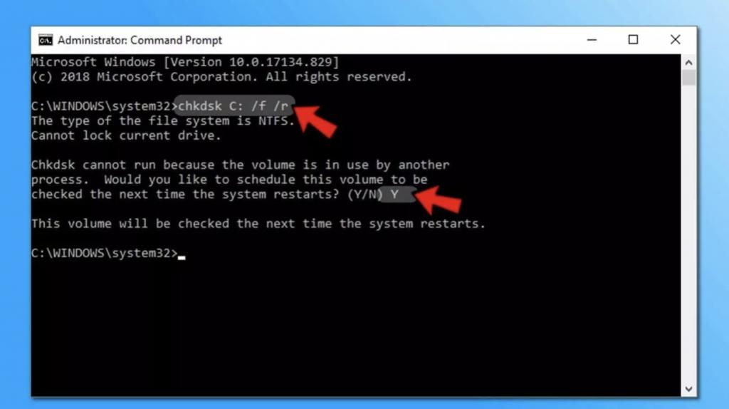 sửa lỗi disk tự động