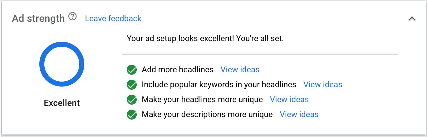 Báo cáo mức độ tối ưu của quảng cáo