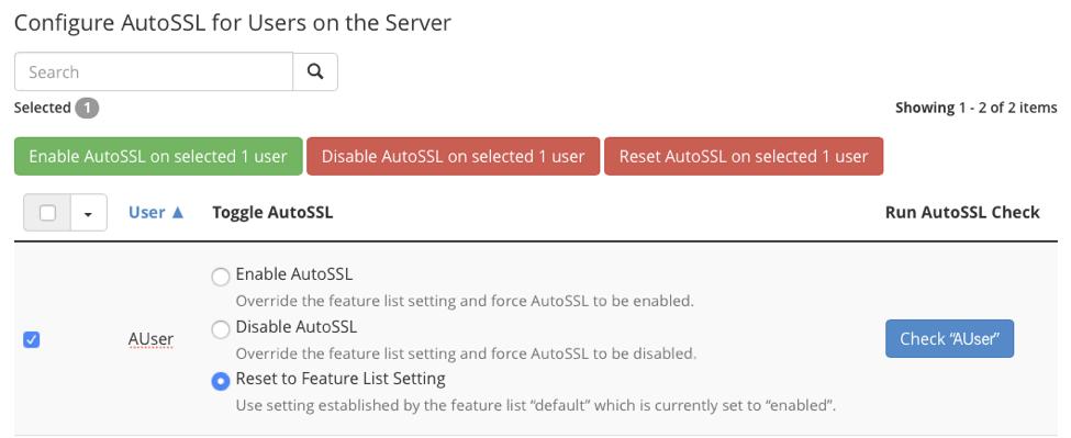 Cài đặt SSL miễn phí Let's Encrypt trong cPanel