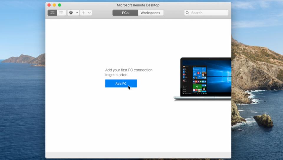 Microsoft Remote Desktop