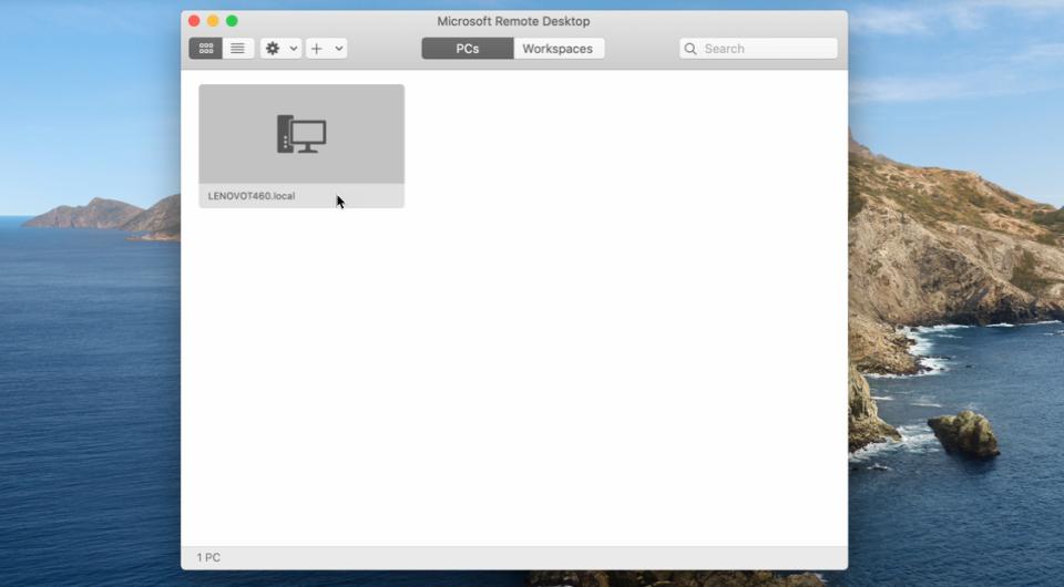 Microsoft Remote Desktop 2