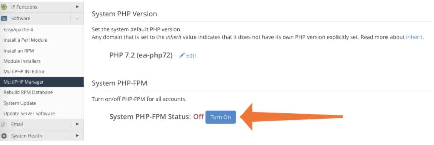 sử dụng PHP-FPM