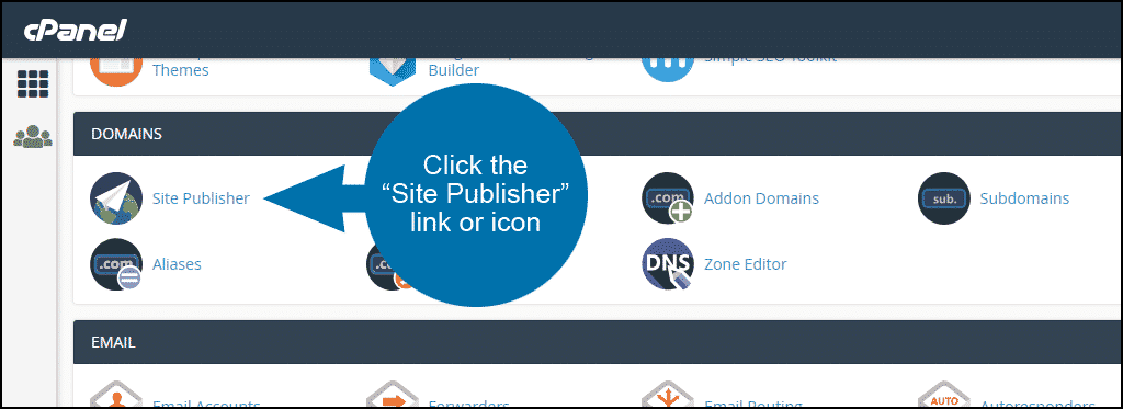 su-dung-site-publisher-trong-cpanel