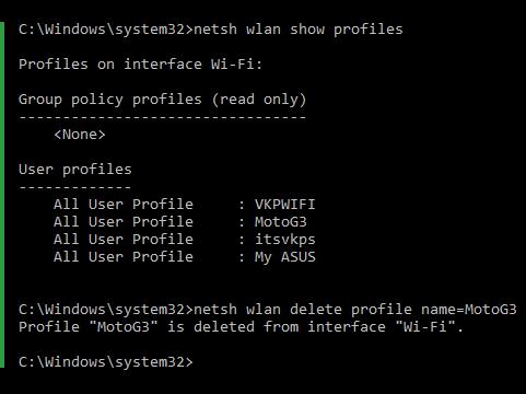 cấu hình mạng WLAN