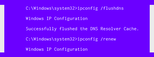 khắc phục lỗi err_internet_disconnected