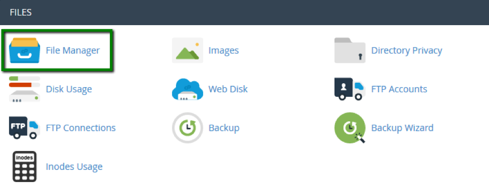 Hướng dẫn sử dụng File Manager trong cPanel