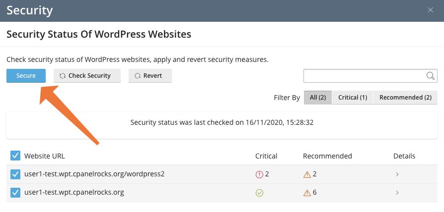 phương pháp bảo mật wordpress bằng cpanel