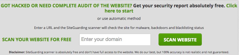 SiteGuarding giúp bảo mật website tốt