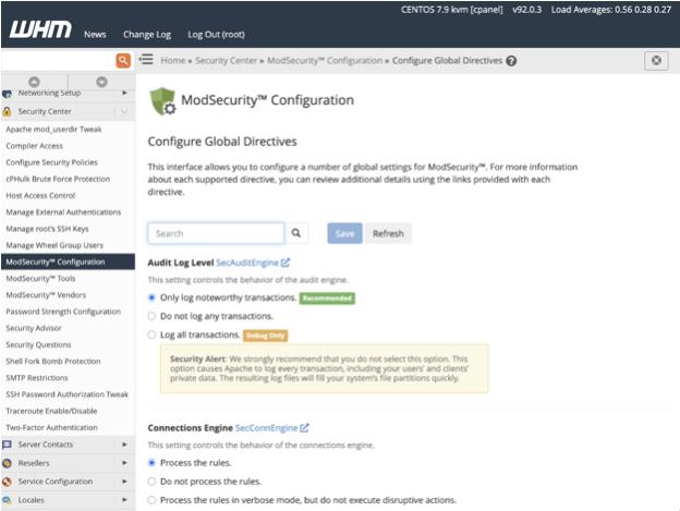 Cài đặt ModSecurity chống xâm nhập web và server