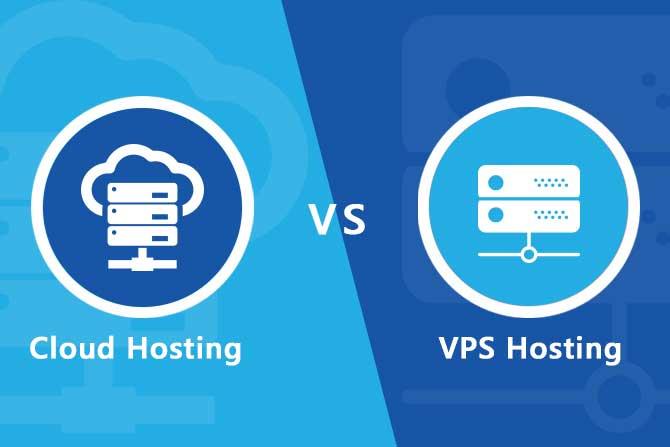 Đâu là sự khác biệt giữa Cloud Hosting và VPS Hosting