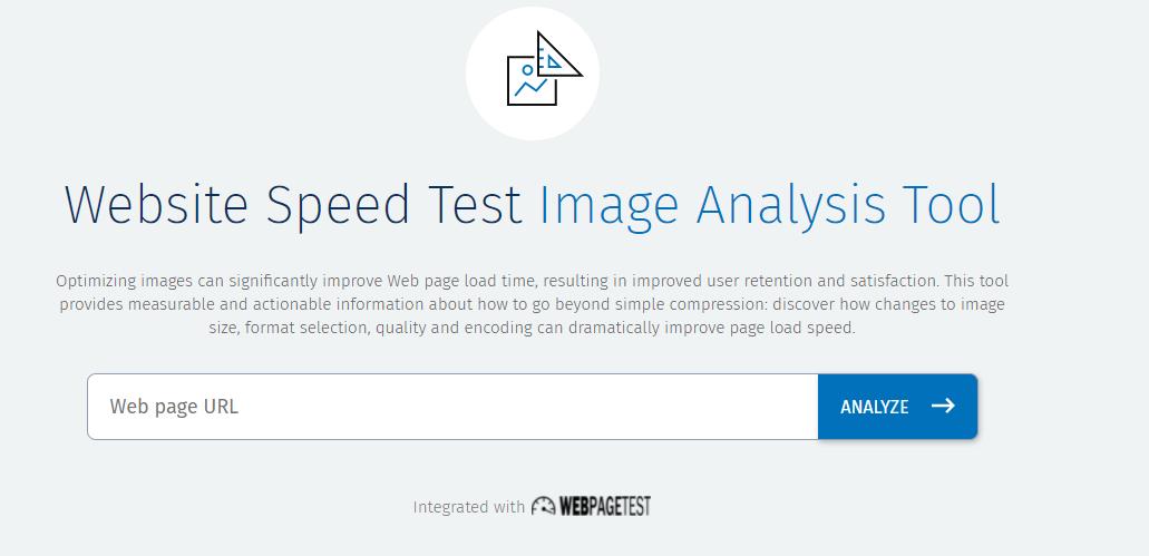 Công cụ kiểm tra tốc độ hosting Website Speed Test (Image Analysis Tool)