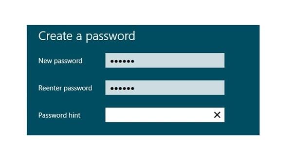 Cách cài đặt Password hint cho Windows 8