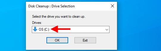 xóa file rác bằng disk cleanup